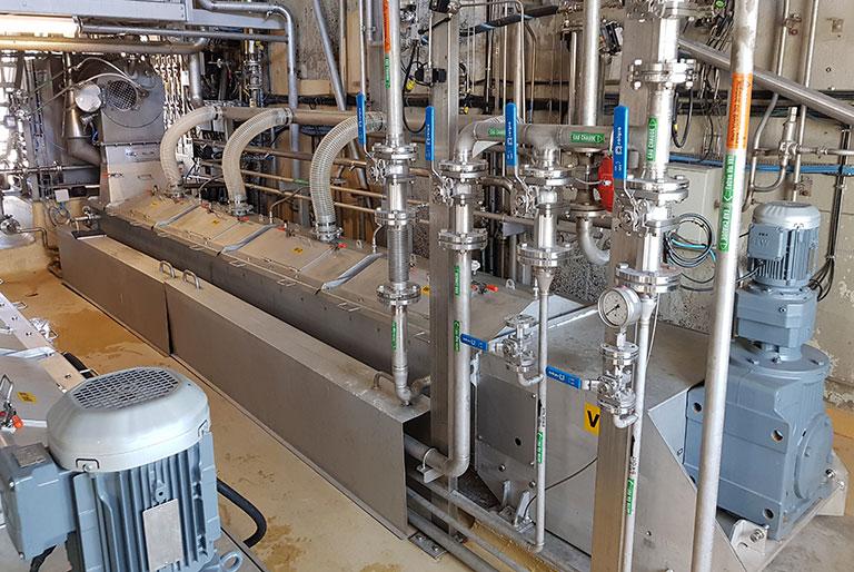 Solutions pour le process et la manutention des produits en vrac